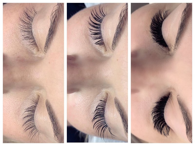 classics and volume lashes