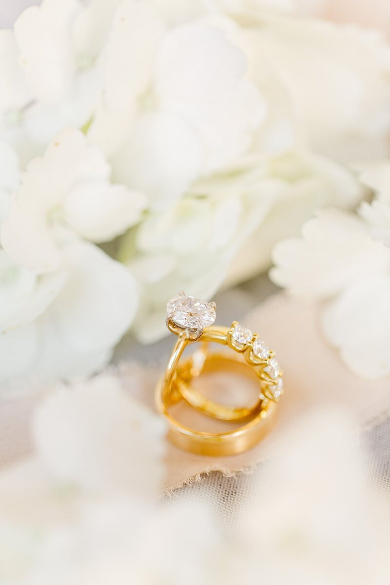 wedding rings by Knoxville Wedding Photographer, Amanda May Photos