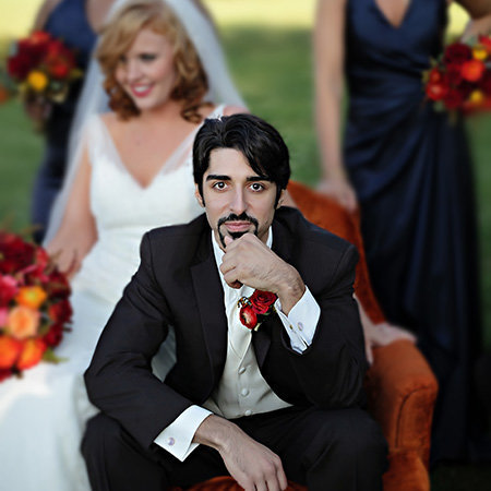 stunning photo of a groom by Kansas City photographers Photos Edge