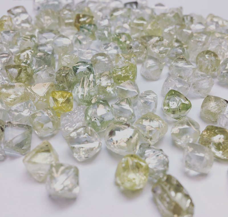 rough diamond, fancy yellow diamond, fancy yellow rough diamond, custom diamond, diamond manufacturing, fancy color diamond, raw diamond, fancy vivid yellow, green diamond, diamond engagement ring