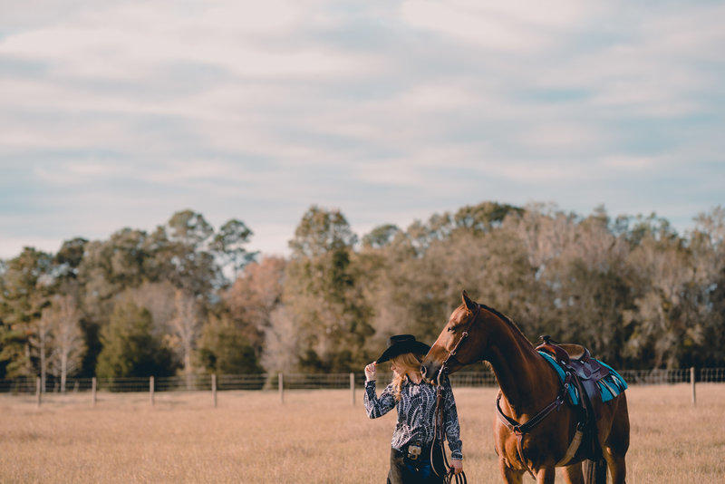Equine portrait photographer based in north florida