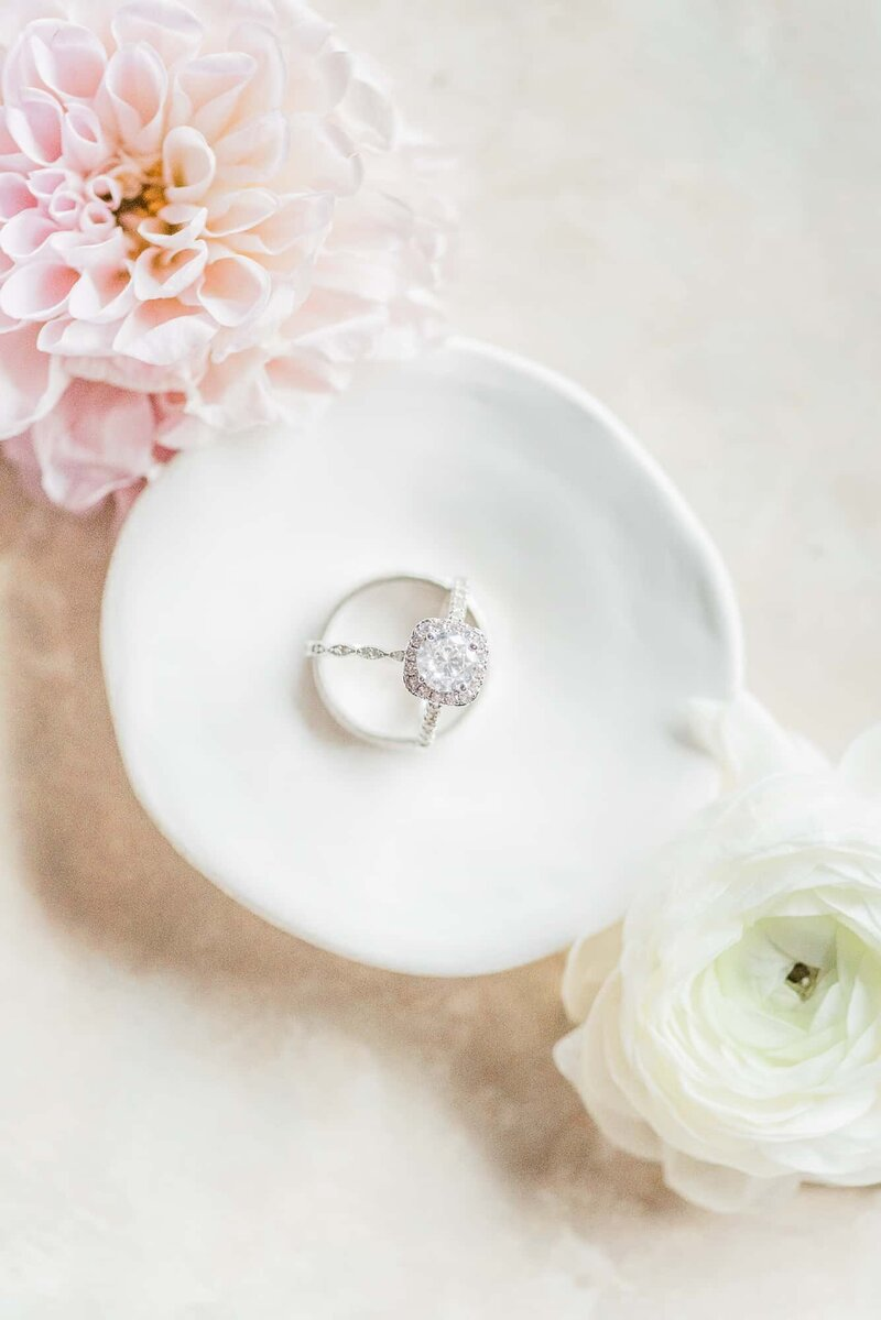 Dallas photograph of proposal ring