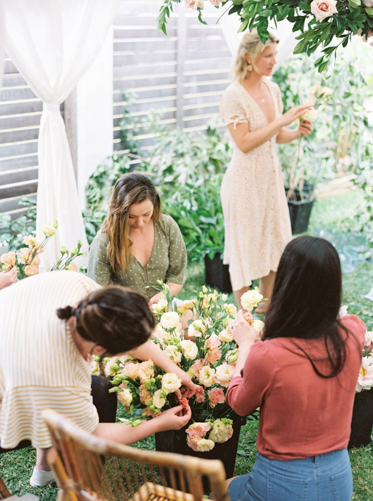 Byron Bay Wedding Photographer Sheri McMahon - Oh Flora Workshop on Fine Art Film - Romantic Spring Wedding Ideas -00059
