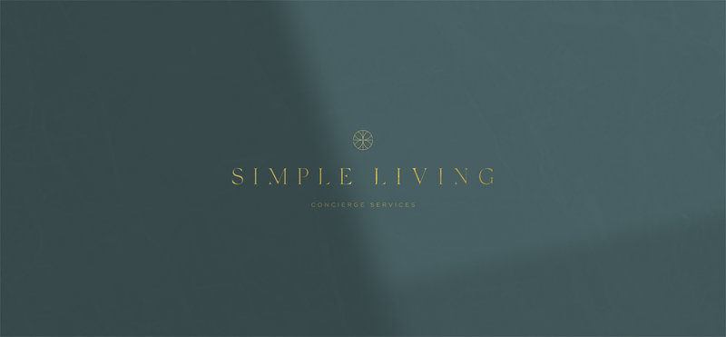Simple Living Concierge Services, Primary Logo