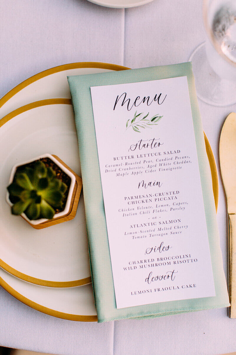 pirouettepaper.com | Wedding Stationery, Signage and Invitations | Pirouette Paper Company | Menus + Programs 13