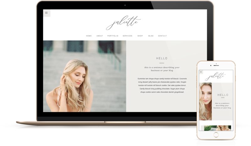 Handcrafting Heartfelt Brand & Website Designs for Female Creatives |  Showit | Showit Templates | Showit Websites | Showit 5 | by Viva la Violet | Juliette