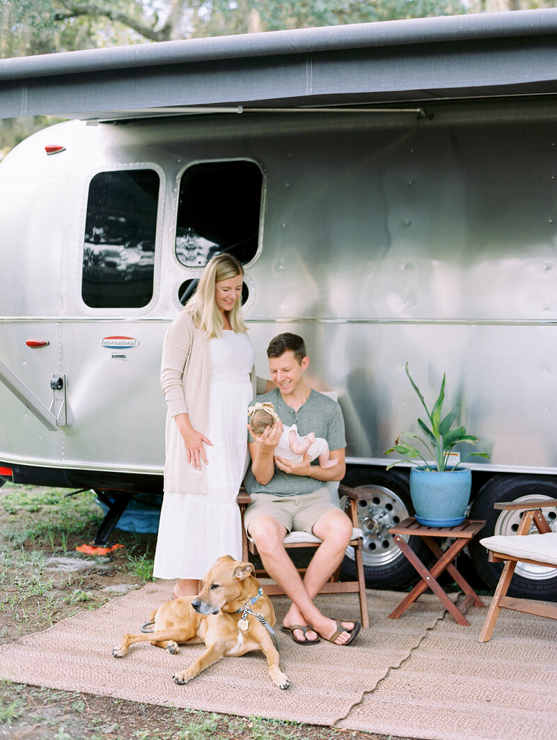 Airstream family session