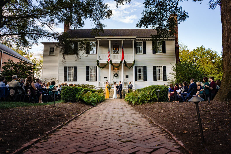 Haywood Hall - Raleigh Wedding Venue