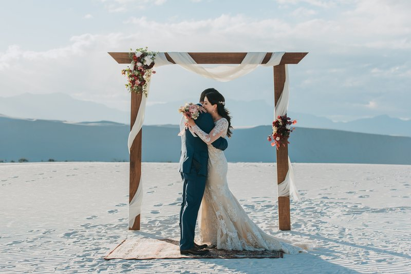 White-Sands-Elopement-Ceremony