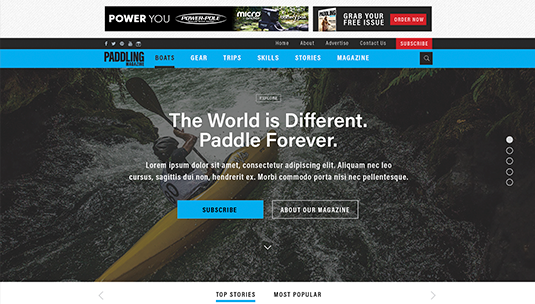 Rapid Media Custom Website Design and Development, Palmer Rapids