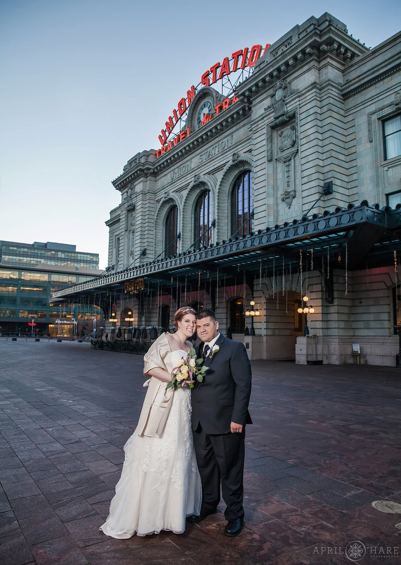 Oxford Hotel Wedding Photos at Union Station