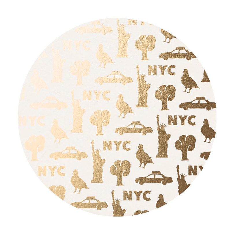 Etsy_Coaster_GoldenNYC_Coaster