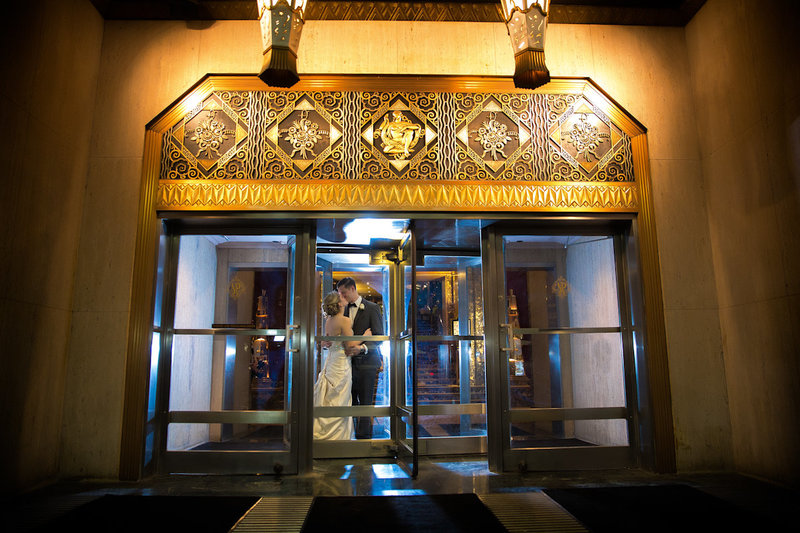 The Hilton Netherlnad Hall of Mirrors wedding
