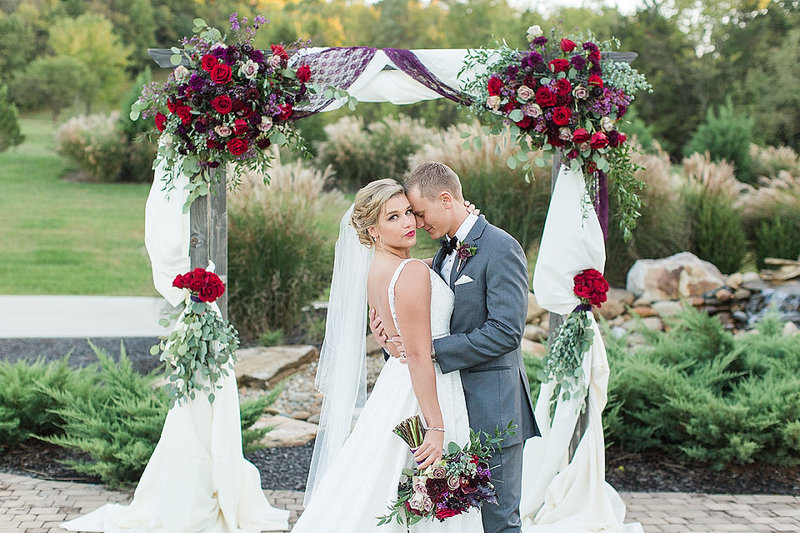 Wedding-Bride-Portraits-Fall-Flower-Arch-Tuckers-Gap-Center-Photo-By-Uniquely-His-Photography005