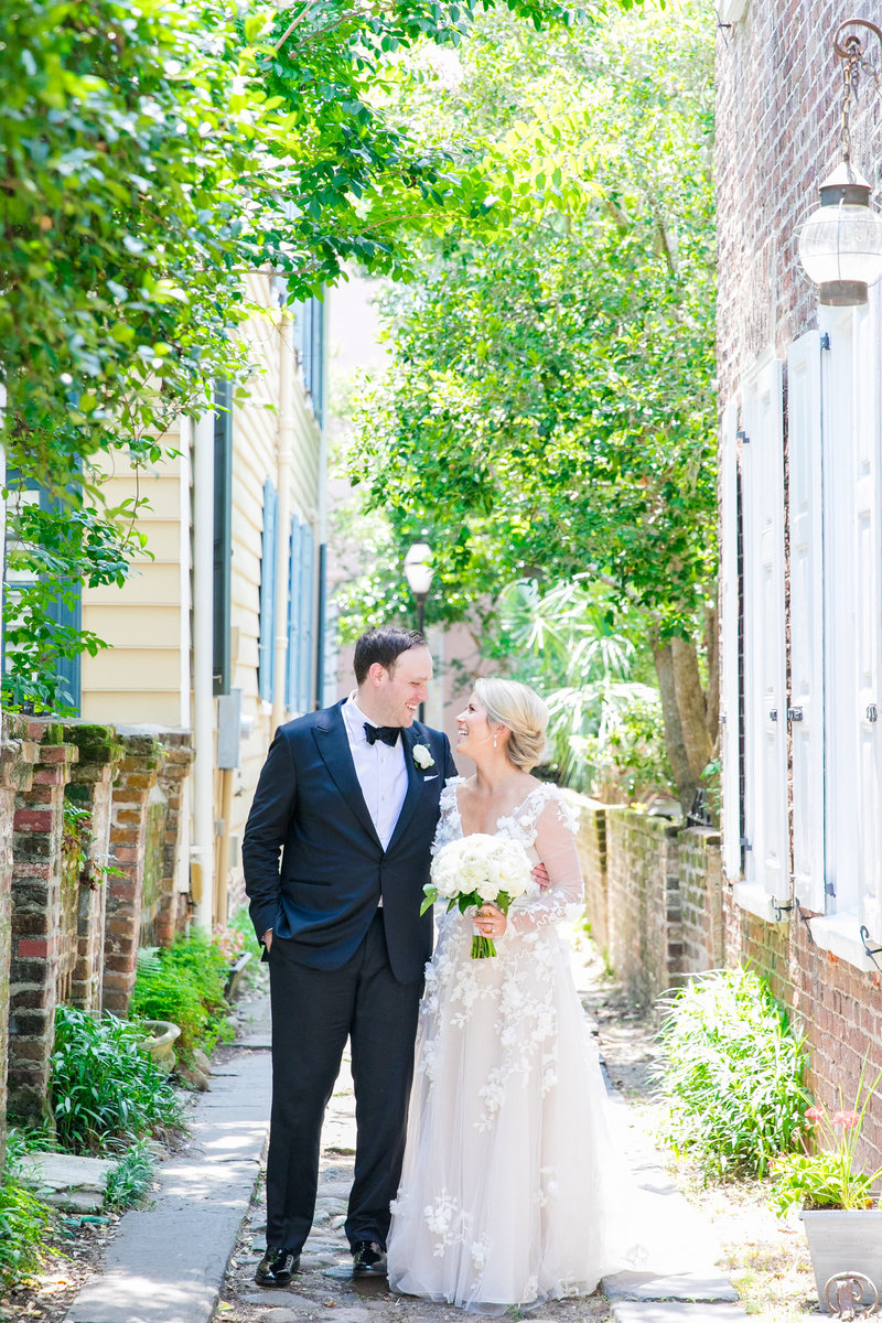 downtown charleston wedding photography