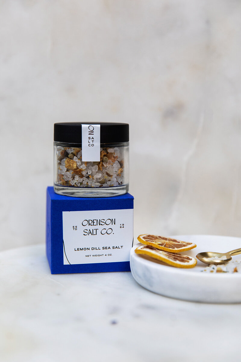 Orenson Salt Co Lemon Dill