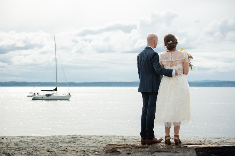 puget sound wedding photo