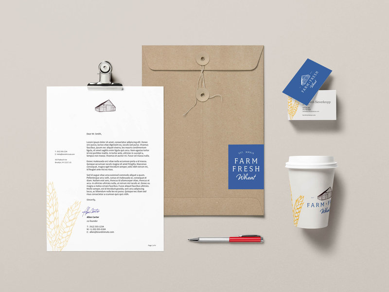Farm Fresh Wheat - Amanda Scott Creative - Custom Branding and Website Design for Creative Entrepreneurs
