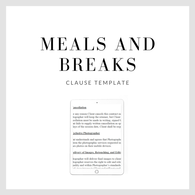 Meals and Breaks Clause