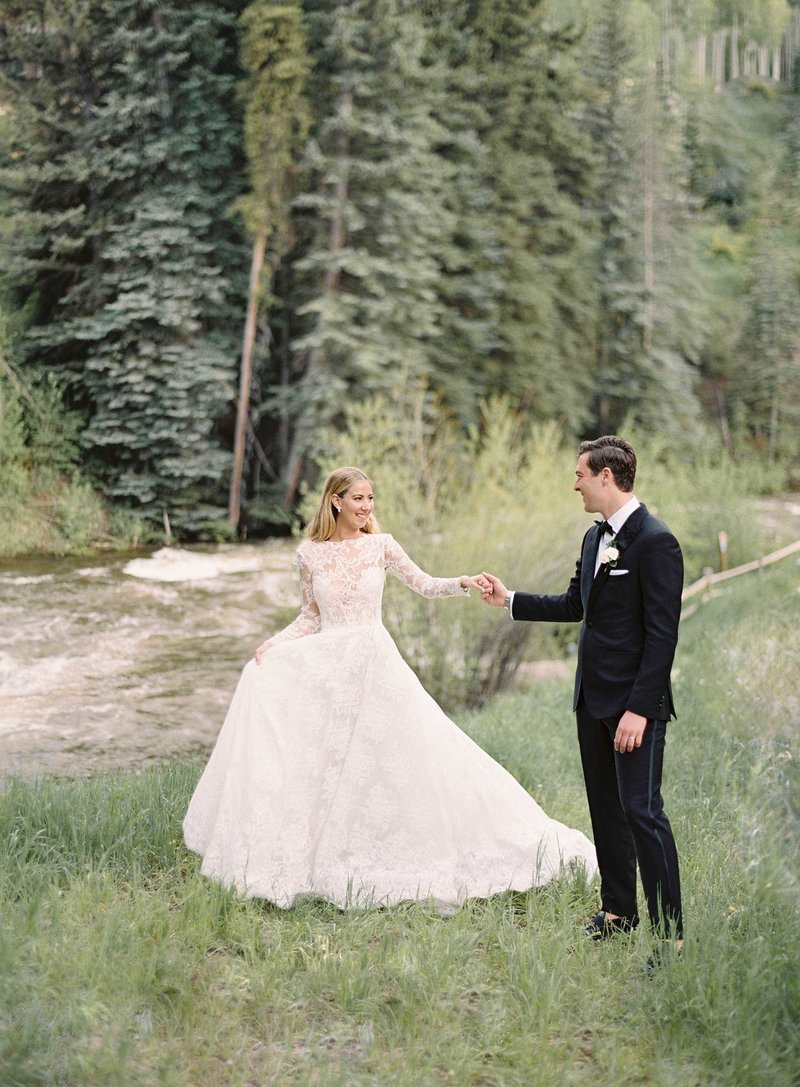 Brooke & Christian. Vail Square Arrabelle Wedding by Alp & Isle with Calluna Events. Portraits-46