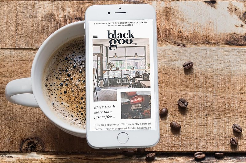 Collab Creative-Website Design-Photography-Black Goo Coffee