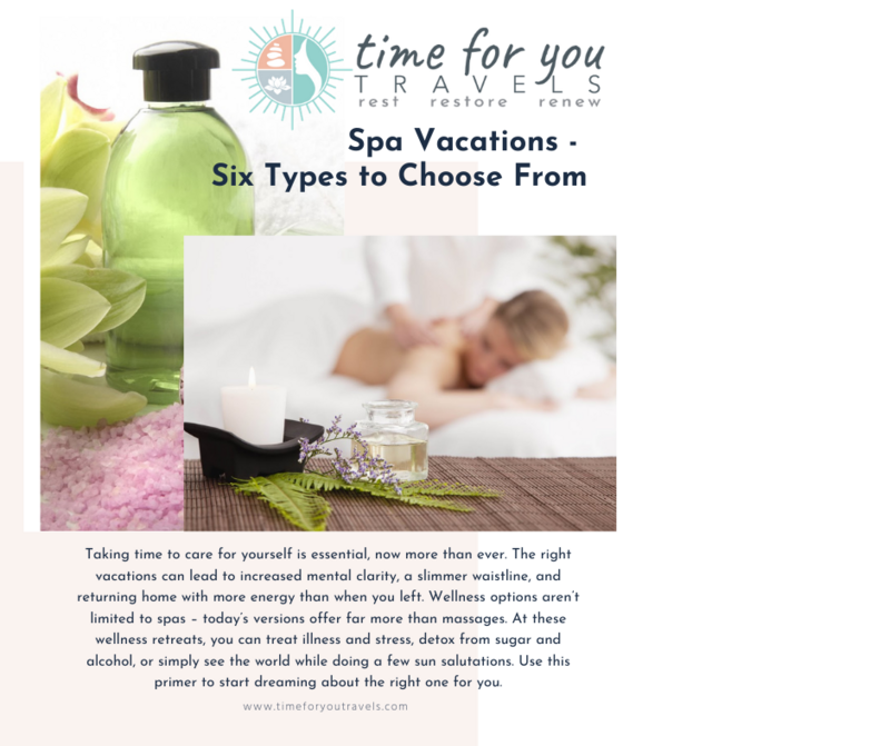 spa vacations cover