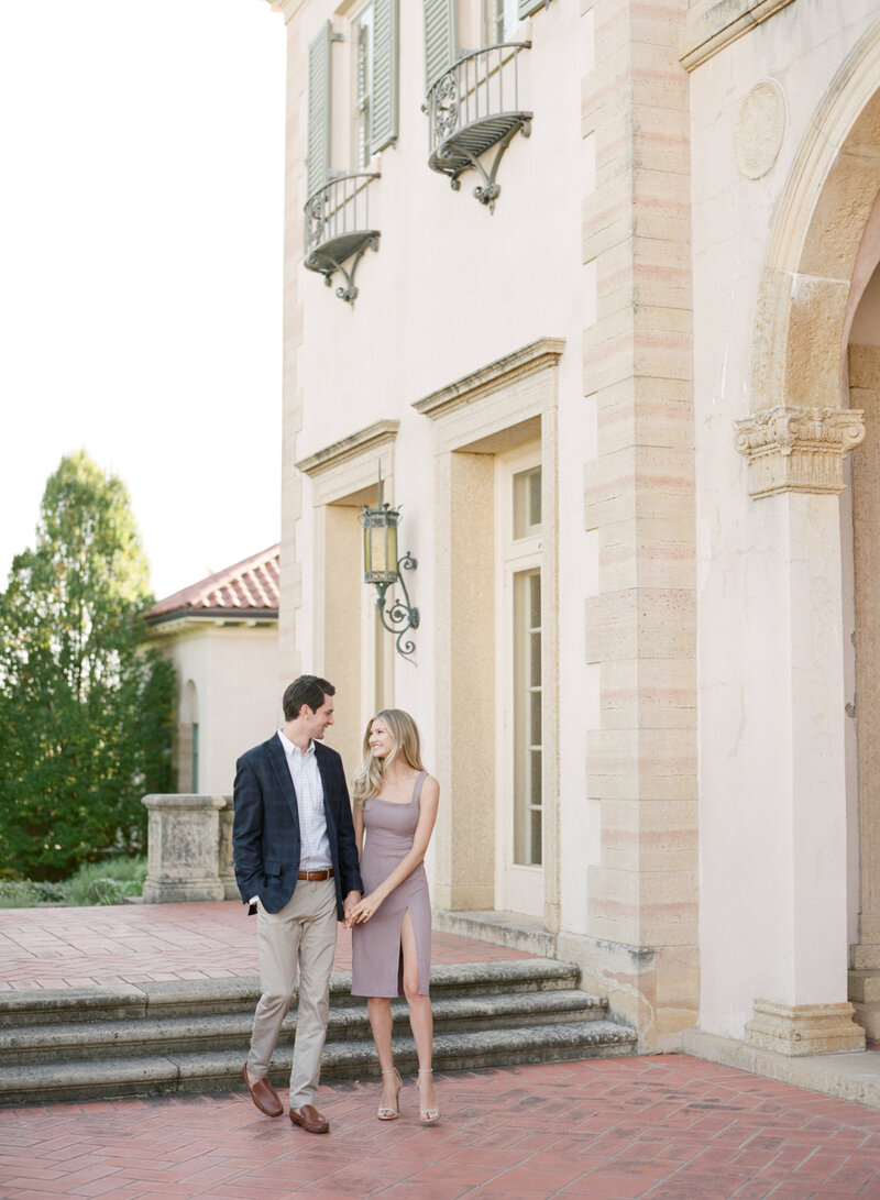 10-13-2020 Justin and Sydney Engagement Photos at Philbrook Museum Tulsa Wedding Photography-15
