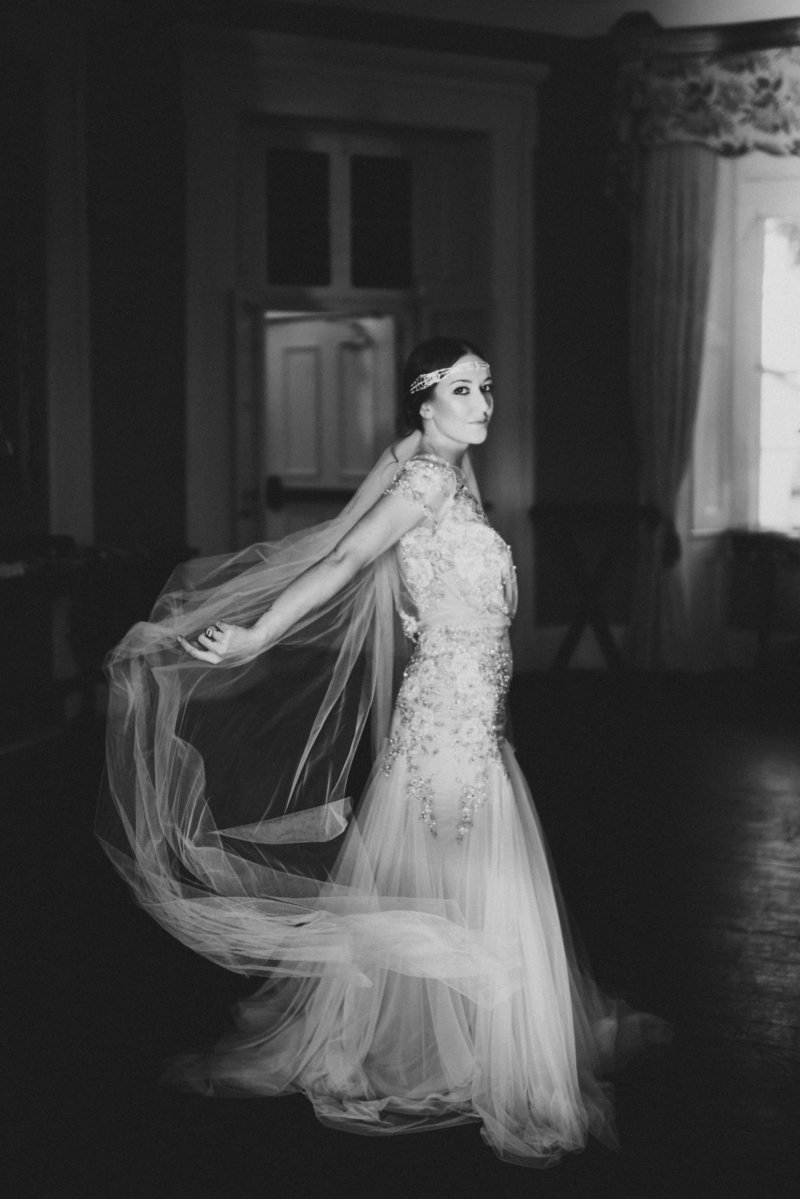 Charleston Bride at William Aiken House