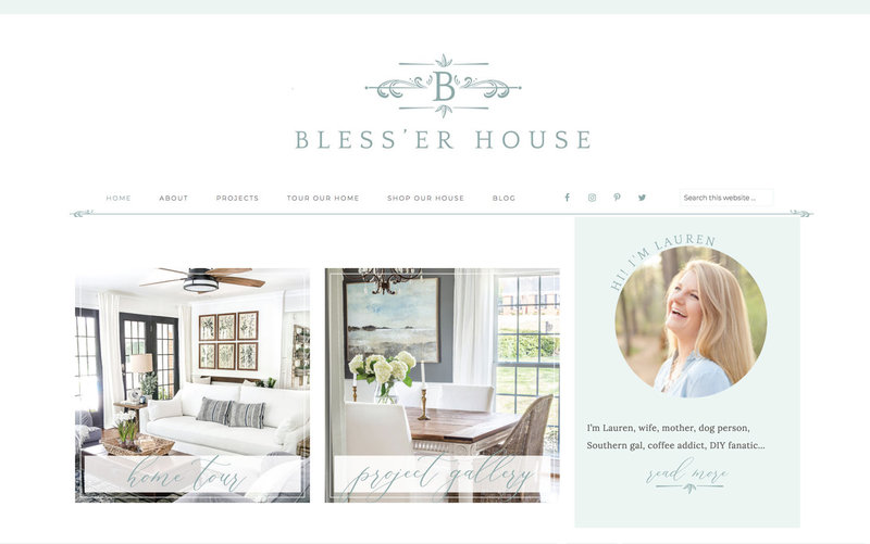 Handcrafting Heartfelt Brand & Website Designs for Female Creatives |  Showit | Showit Templates | by Viva la Violet | Bless'er House
