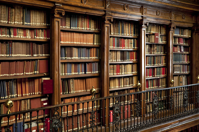bigstock-Library-Of-Old-Books-24795497