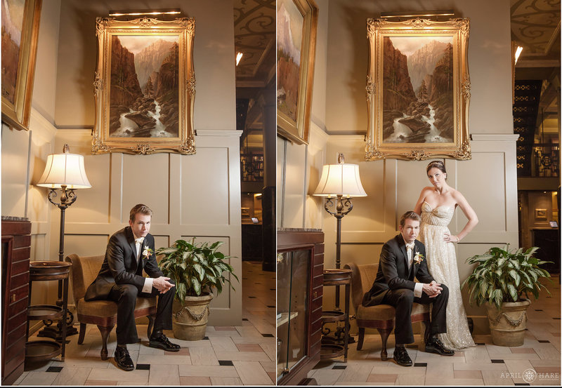 Elegant Wedding Photography at the Oxford Hotel downtown Denver