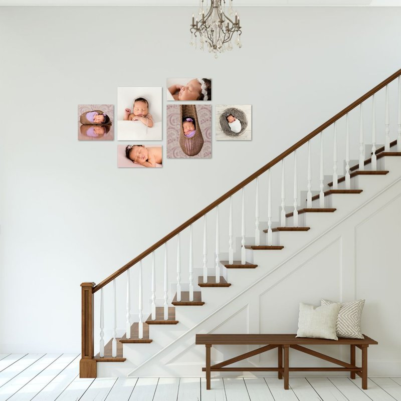 Modern Farmhouse Stairs Ligh