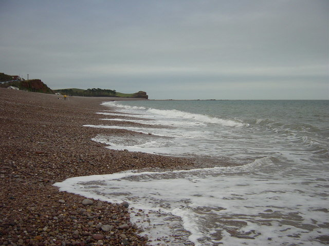 A_grey_day_on_Budleigh_Beach_-_geograph.org.uk_-_561298