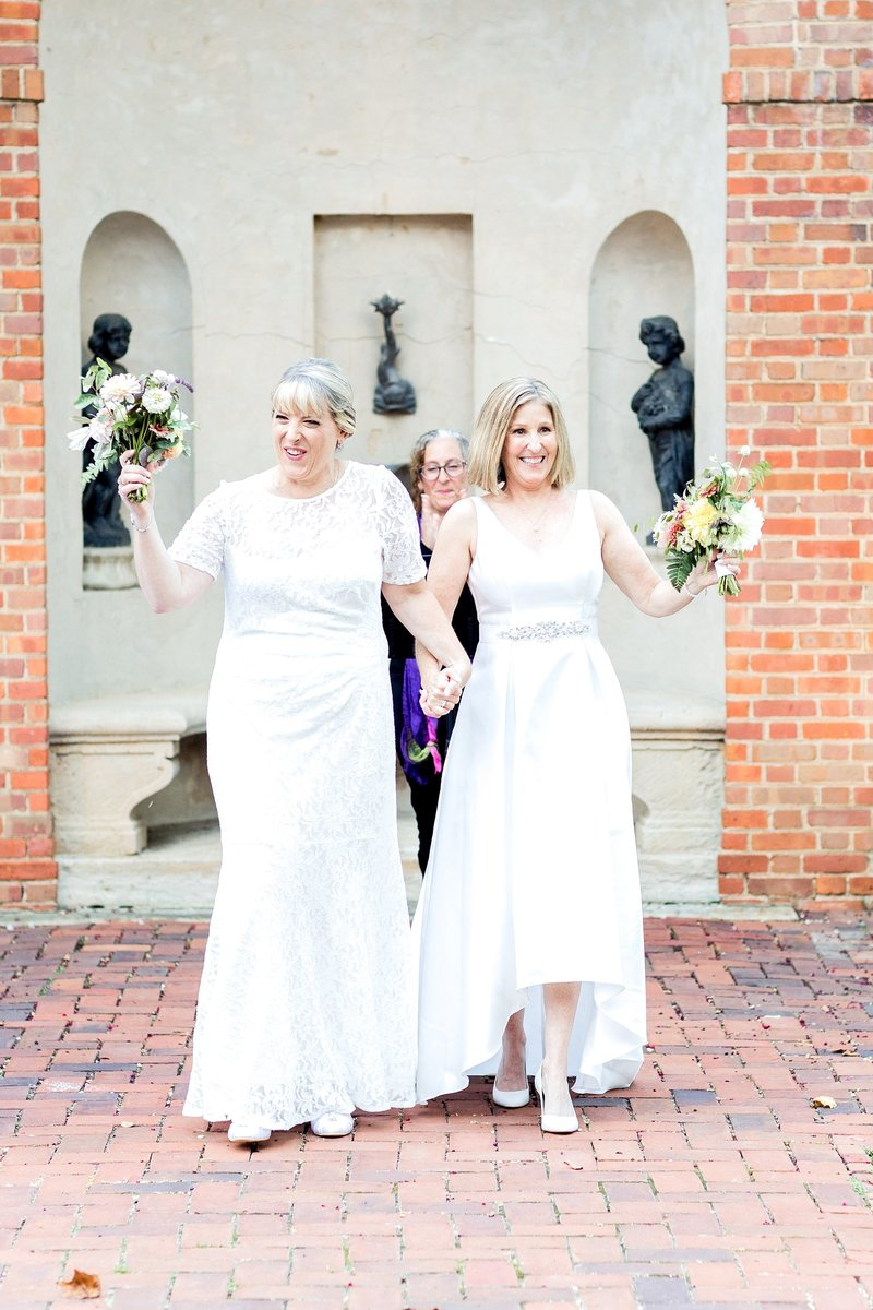 Same Sex Wedding The Dumbarton House DC Soleil and Katie Photography_0764