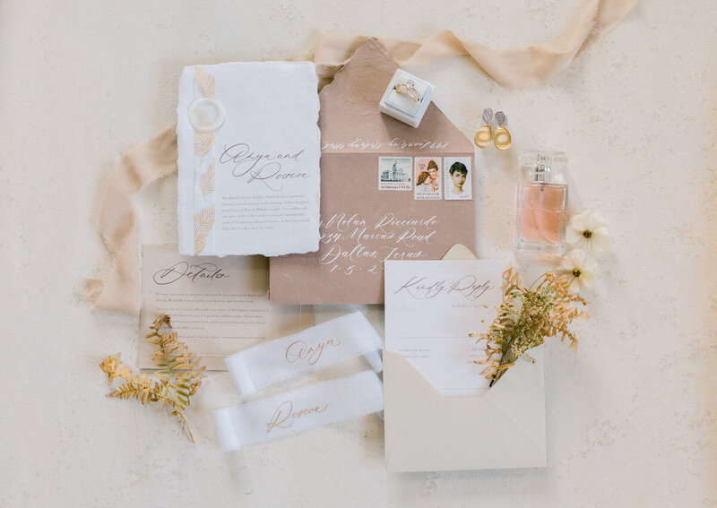 pink-wedding-invitation-flatlay