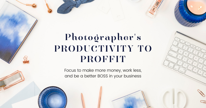 Photographer's Productivity to Profit- jenny-demarco-education-