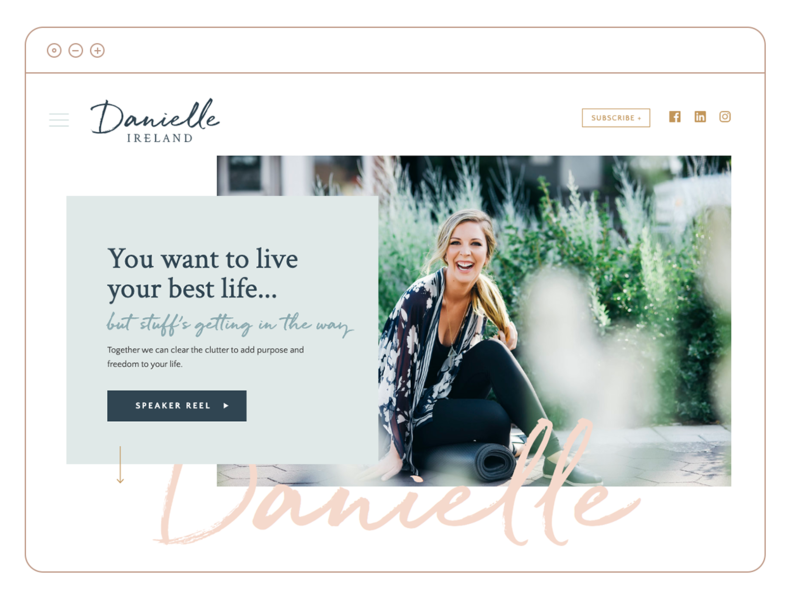 danielle-showit-website