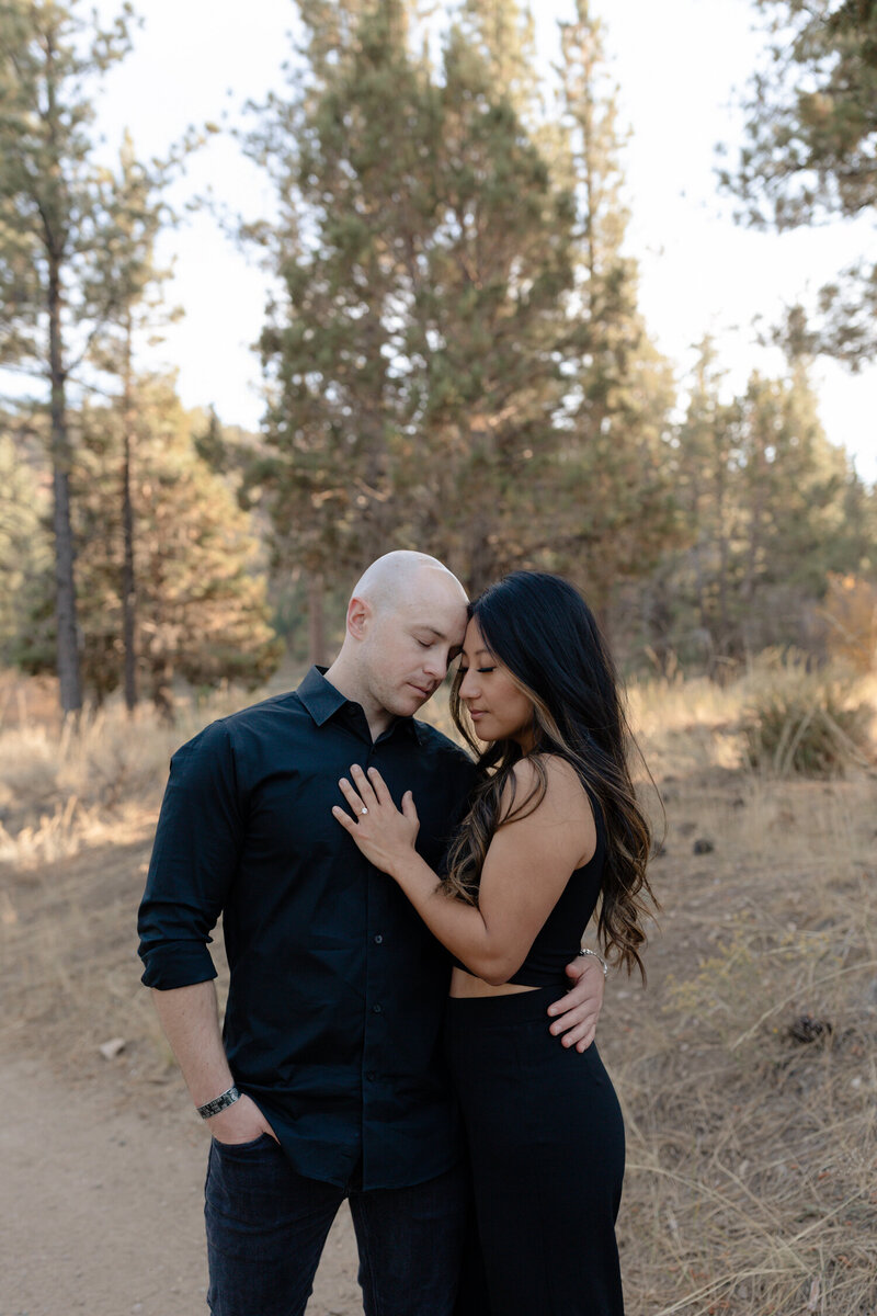 big bear engagement session open field - reagansuittphotos-45