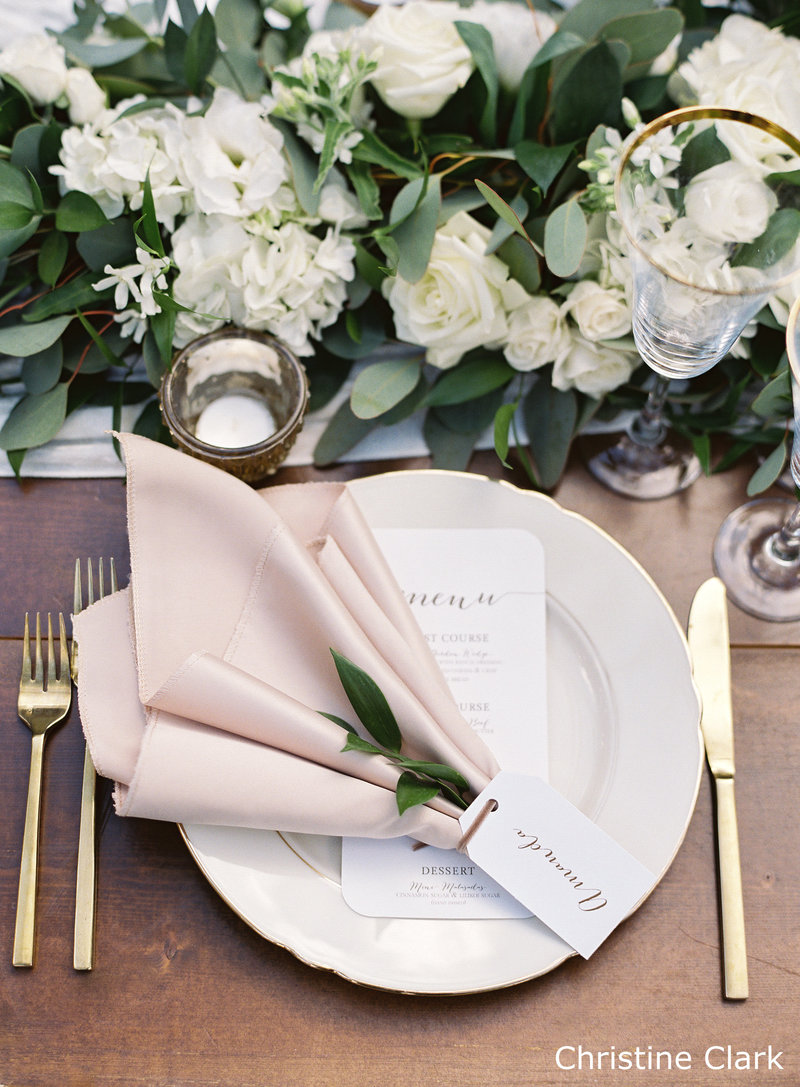 WM Champagne matte satin napkin copy