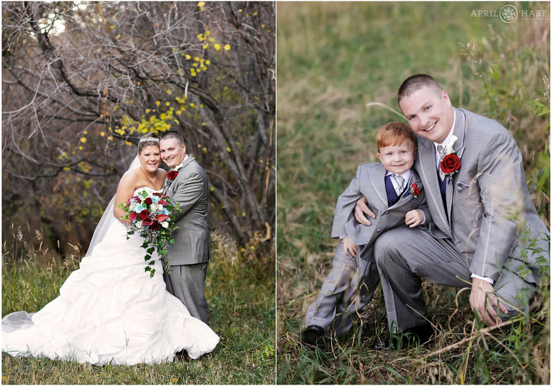 Pretty Fall Wedding Photos from The Pines at Genesee