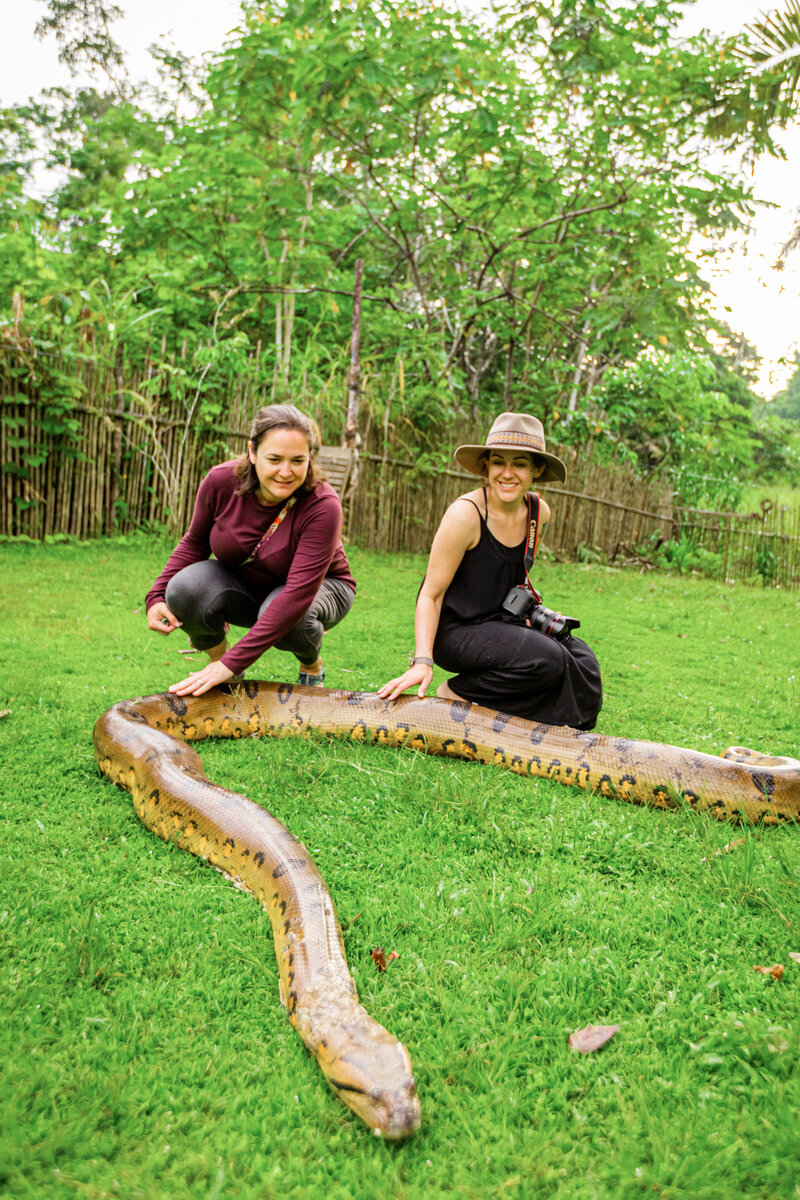 Kelli-Hayden-Peru-Amazon-Anaconda