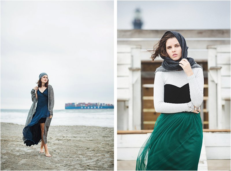 fall beach editorial savannah fashion