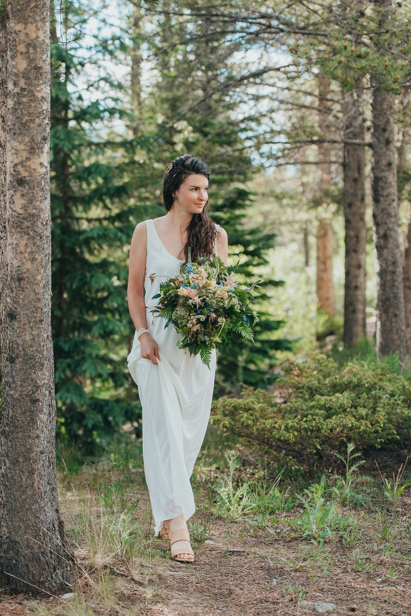 Breckenridge-Colorado-Forest-Wedding