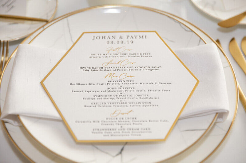 pirouettepaper.com | Wedding Stationery, Signage and Invitations | Pirouette Paper Company | Menus + Programs 25