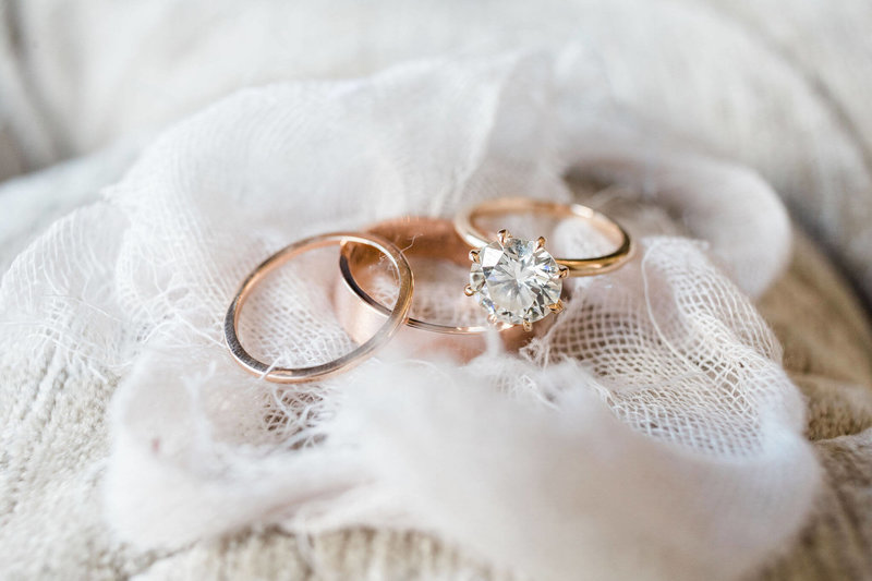 Wedding Rings by Susie Saltzman