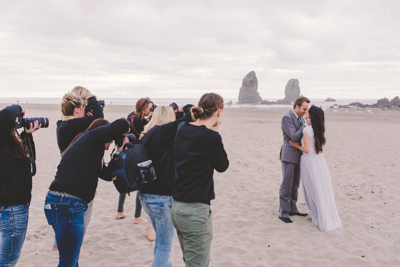 Destination Photography Workshop | Wedding Photography Workshop Oregon Coast