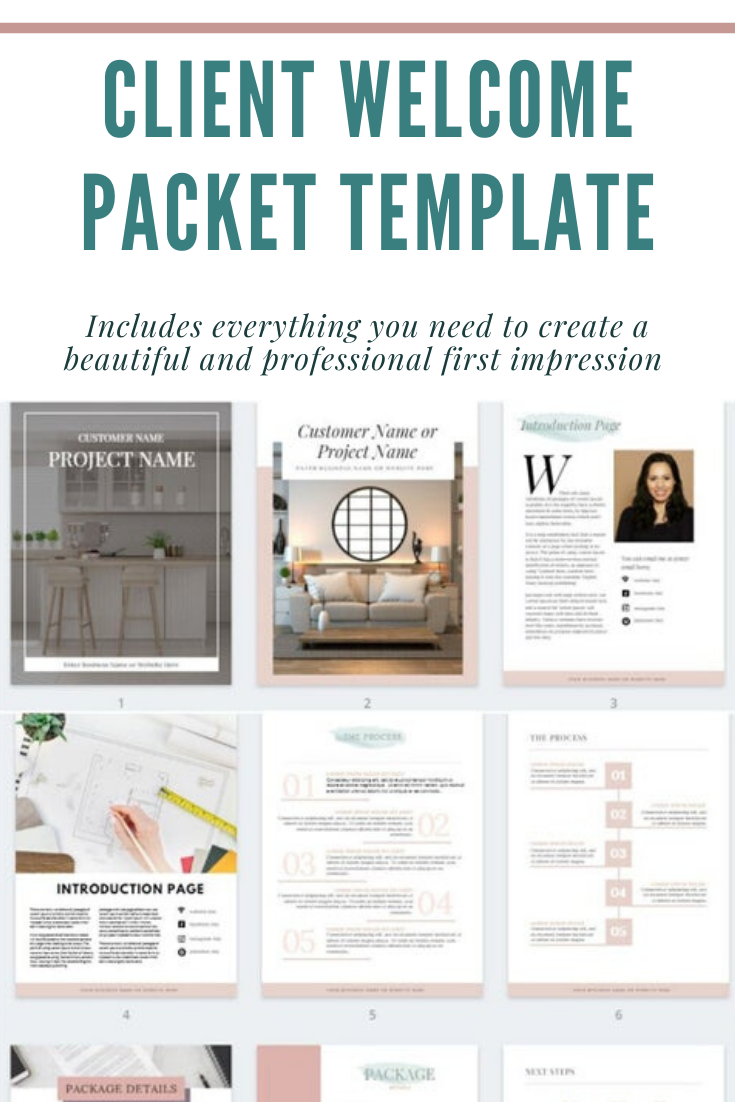 CLIENT WELCOME PACKET TEMPLATE