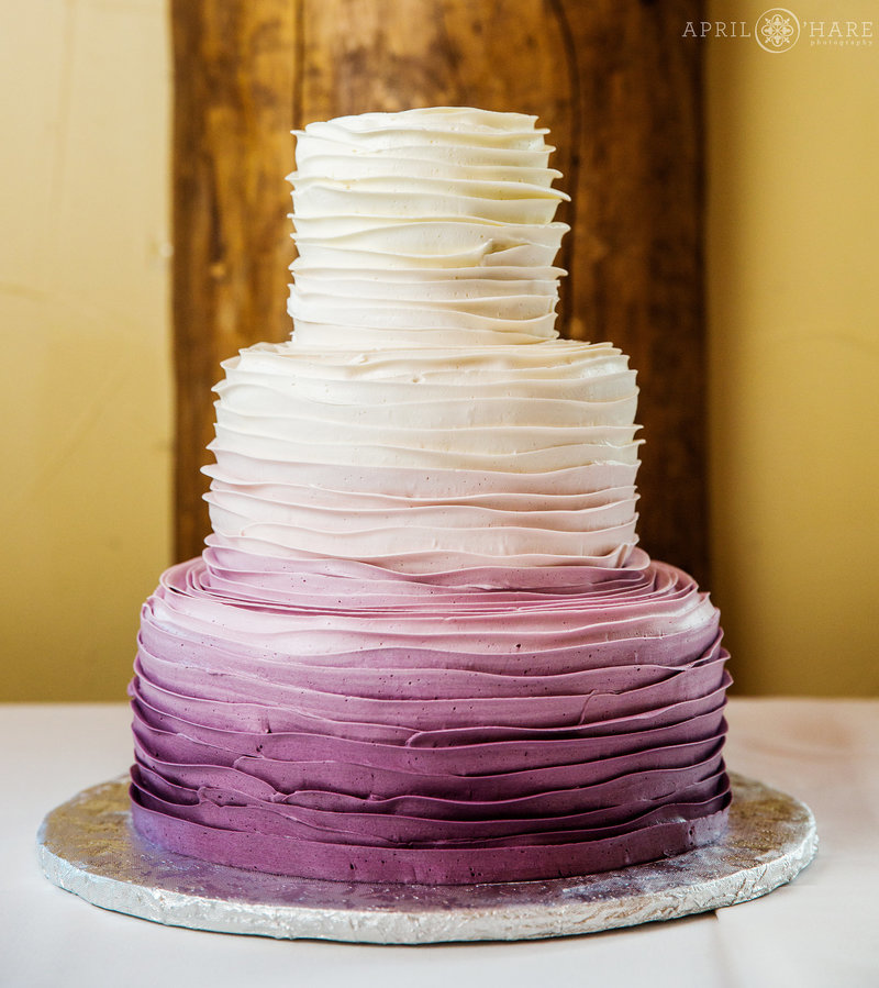 Purple-to-White-Ombre-Cake-from-Blue-Moon-Bakery-Dillon-Colorado-Wedding-Cake-Baker-2