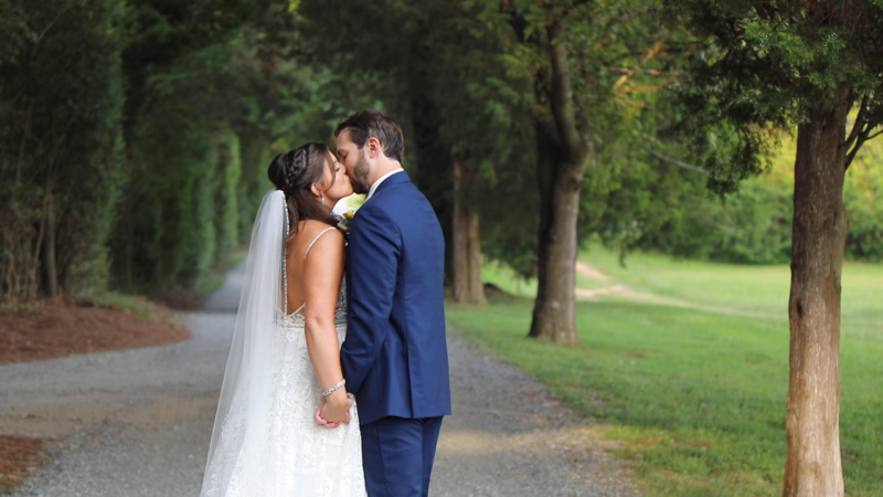 Anastopoulos Sneak Peek Greensboro Wedding Videographers