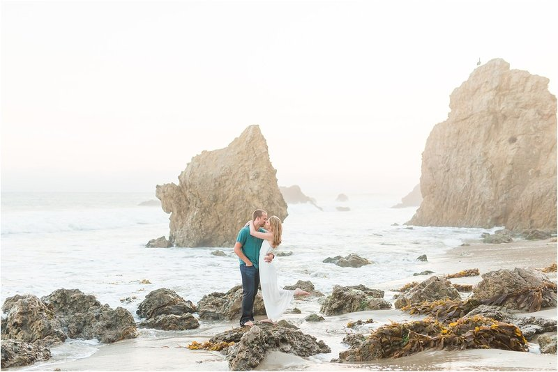 Malibu Engagement Pictures | El Matador Beach_0021